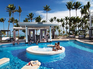 Popular All-inclusive hotel Riu Palace Bavaro