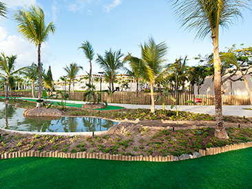 Popular All-inclusive hotel Barcelo Bavaro Palace