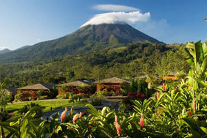 Popular All-inclusive hotel in Costa Rica Arenal Nayara Hotel, Spa & Gardens