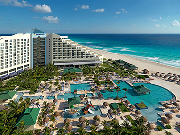 Popular All-inclusive hotel in Mexico Iberostar Cancun