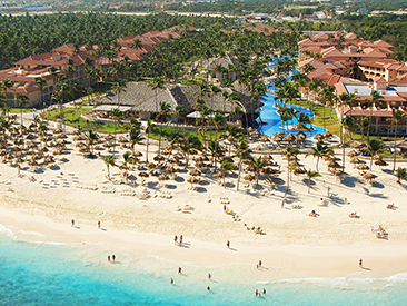 Popular All-inclusive hotel Majestic Colonial Punta Cana