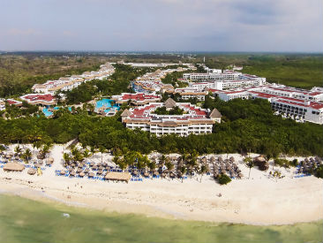 luxury plush  all inclusive resort Excellence Playa Mujeres